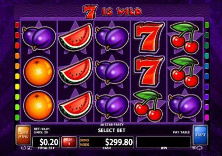 Ігровий Casino Technology автомат — 20 Star Party