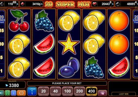 Ігровий EGT автомат — 20 Super Hot