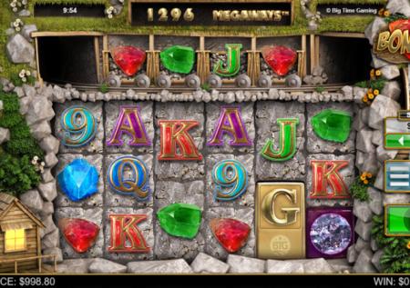 Ігровий Big Time Gaming автомат — Bonanza