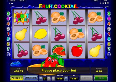 Клубнички (Fruit Cocktail)