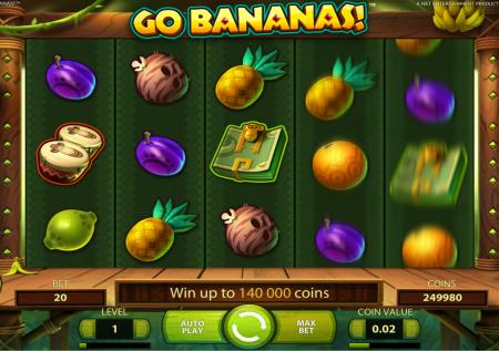 Ігровий NetEnt автомат — Go Bananas