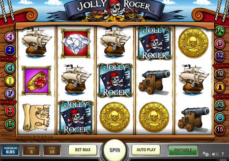 Ігровий Play'n Go автомат — Jolly Roger