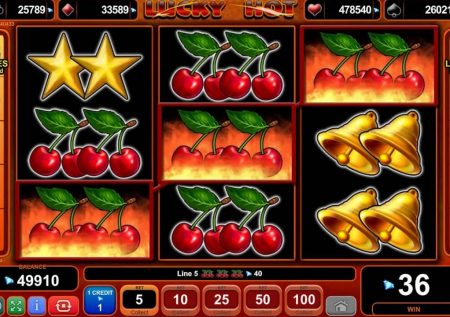 Ігровий EGT автомат — Lucky Hot