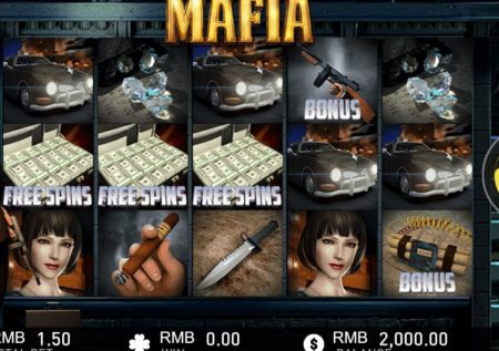 Ігровий gameplay Interactive автомат — Mafia