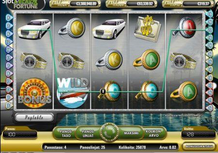 Ігровий NetEnt автомат — Mega Fortune
