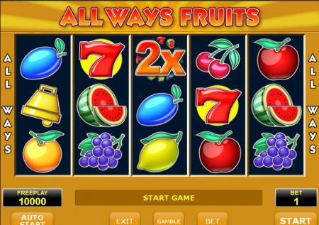 Ігровий Amatic автомат — All Ways Fruits