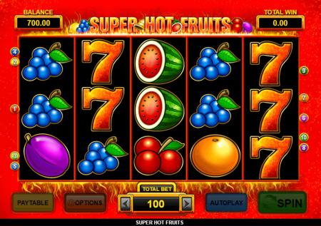 Ігровий iGaming2go автомат — Hot Fruits