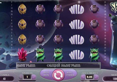 Ігровий NetEnt автомат — Space Wars