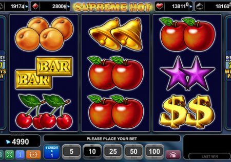 Ігровий EGT автомат — Supreme Hot