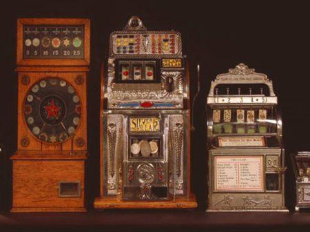 Історія ігрових автоматів